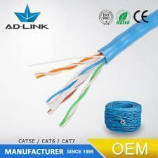 Cat6 Ethernet- UTP 24AW Tough Cable 305M