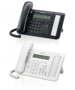Panasonic KX-NT543 Black 3-Line Backlit LCD IP Phone w/24 Buttons