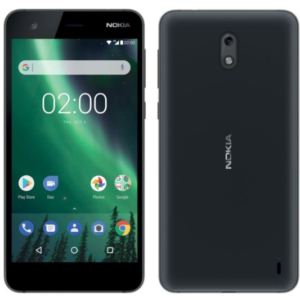 Faiba 4G compatible device. Nokia 2 smartphone, 8GB, Dual SIM, RAM 1GB.